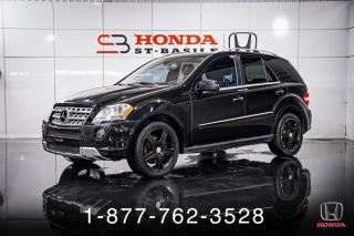 Used 2011 Mercedes-Benz ML-Class ML550 + V8 + AWD + NAVI + WOW ! for sale in St-Basile-le-Grand, QC