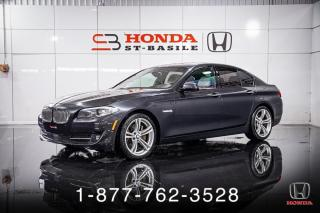 Used 2013 BMW 5 Series 550i + xDrive + NAVI + TOIT + CUIR + WOW for sale in St-Basile-le-Grand, QC
