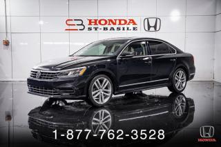Used 2016 Volkswagen Passat 1.8 TSI COMFORTLINE + CUIR + TOIT + WOW for sale in St-Basile-le-Grand, QC