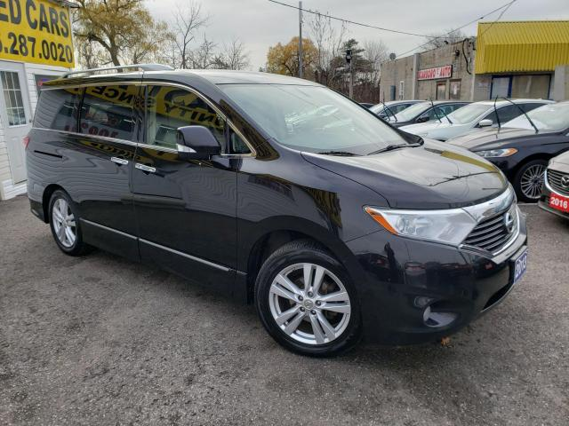 2013 Nissan Quest SL/LEATHER SEATS/BACKUP CAM/BLUETOOTH/POWER GROUP
