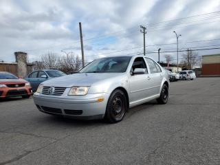 Used 2002 Volkswagen Jetta GLX *CUIR*TOIT*A/C*CRUISE* for sale in St-Jérôme, QC