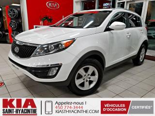Used 2016 Kia Sportage ** EN ATTENTE D'APPROBATION ** for sale in St-Hyacinthe, QC