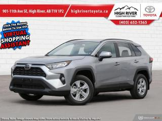 New 2021 Toyota RAV4 XLE AWD for sale in High River, AB
