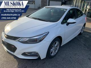 Used 2017 Chevrolet Cruze LT for sale in Bracebridge, ON