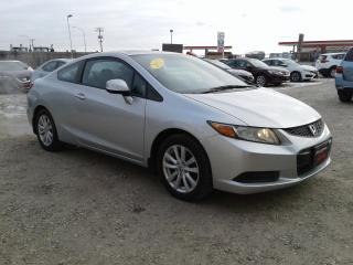 Used 2012 Honda Civic Cpe EX-L for sale in Oak Bluff, MB