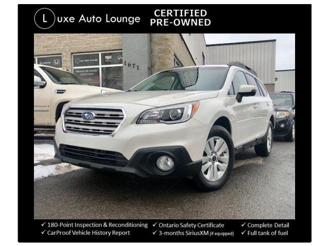 2015 Subaru Outback 2.5i W/ TOURING PKG, AWD, HEATED SEATS, SUNROOF!!