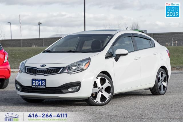 2013 Kia Rio SX|Navigation|Sunroof|Leather|
