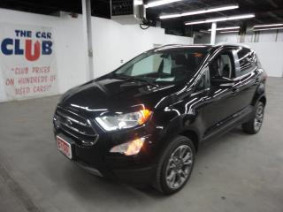 Used 2019 Ford EcoSport Titanium 4WD w/ Heated Leather & Sunroof for sale in Ottawa, ON