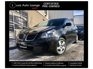 Used 2010 Pontiac Vibe LOW KM'S, POWER GROUP, A/C!! for sale in Orleans, ON