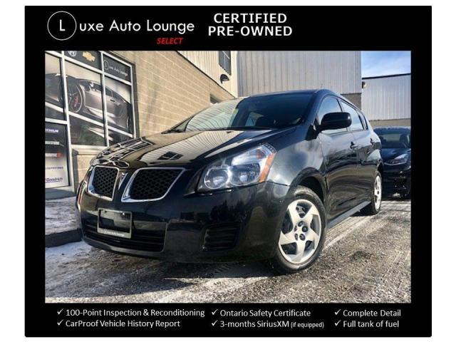 2010 Pontiac Vibe LOW KM'S, POWER GROUP, A/C!!