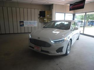 Used 2019 Ford Fusion Hybrid SEL HYBRID W/ LEATHER AND SUNROOF for sale in Ottawa, ON