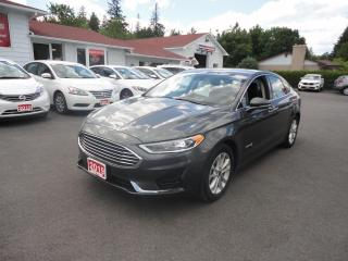 Used 2019 Ford Fusion Hybrid SEL FWD W/ LEATHER AND SUNROOF for sale in Ottawa, ON
