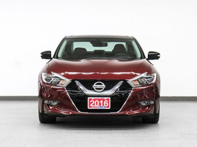 2016 Nissan Maxima Platinum Nav Leather PanoRoof Backup Cam