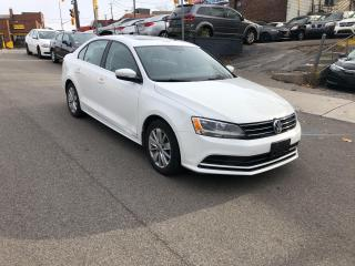 Used 2016 Volkswagen Jetta Trendline+ NOACCIDENT CAMERA SUNROOF CERTIFIED for sale in Toronto, ON