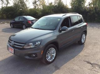 Used 2016 Volkswagen Tiguan 4MOTION - Special Edition - NAVIGATION! for sale in Ottawa, ON