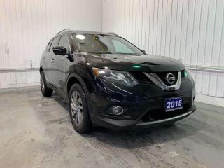 Used 2015 Nissan Rogue SL w/BOSE AUDIO, PANORAMIC ROOF, ONE OWNER!!! for sale in Huntsville, ON