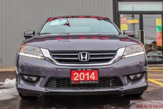 Used 2014 Honda Accord Touring|ACCIDENT FREE|SUNROOF|BACKUP CAM for sale in Brampton, ON