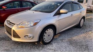 Used 2012 Ford Focus SE for sale in Tilbury, ON