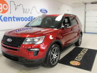 Used 2016 Ford Explorer Sport | AWD | LOW KM | Sunroof | Heated/Cooled Leather for sale in Edmonton, AB