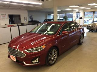 Used 2019 Ford Fusion Hybrid Titanium Hybrid - Leather - Sunroof - Navigation! for sale in Ottawa, ON