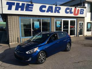 Used 2017 Hyundai Accent SE HATCH - AUTO - A/C - SUNROOF! for sale in Ottawa, ON