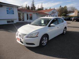 Used 2013 Nissan Sentra 4dr Sdn S w/ Platinum warranty to 140,000 kms for sale in Ottawa, ON
