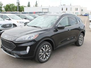 New 2020 Ford Escape Titanium Hybrid 400A | AWD | 2.5 L L-4 | Power/Heated Seats | Heated Steering Wheel | Reverse Camera | Navigation | Moon Roof for sale in Edmonton, AB