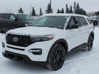 New 2021 Ford Explorer ST 401A | 4WD | 3.0L Ecoboost | Heated & Cooled Seats | Heated Steering Wheel | Trailer Package | Navigation | 360-Degree Camera | Moonroof for sale in Edmonton, AB