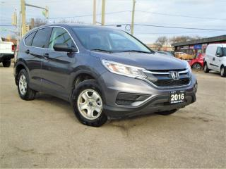 Used 2016 Honda CR-V AUTO 1OWNER NO ACCDIENT NEW TIRES+ BRAKES B-TOOTH for sale in Oakville, ON