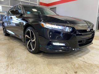 Used 2019 Honda Accord Sedan Sport for sale in Red Deer, AB