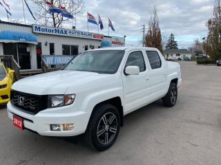 Used 2012 Honda Ridgeline SPORT-4WD-ACCIDENT FREE for sale in Stoney Creek, ON