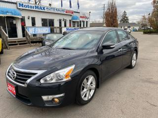 Used 2015 Nissan Altima 2.5 SL-NAVI-LTHR-WE FINANCE for sale in Stoney Creek, ON