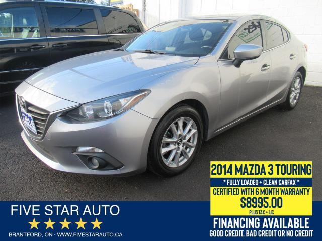 2014 Mazda MAZDA3 GS-SKY *Clean Carfax* Certified + 6 Month Warranty