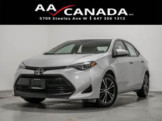 Used 2019 Toyota Corolla LE|sunroof|alloys|back up cam for sale in North York, ON