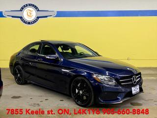 Used 2015 Mercedes-Benz C-Class C300 4Matic, Navi, Pano Roof, Blind Spot for sale in Vaughan, ON