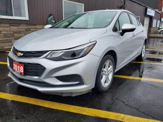 Used 2018 Chevrolet Cruze LT-BLUETOOTH-BACK UP CAMERA-HEATED SEATS for sale in Tilbury, ON