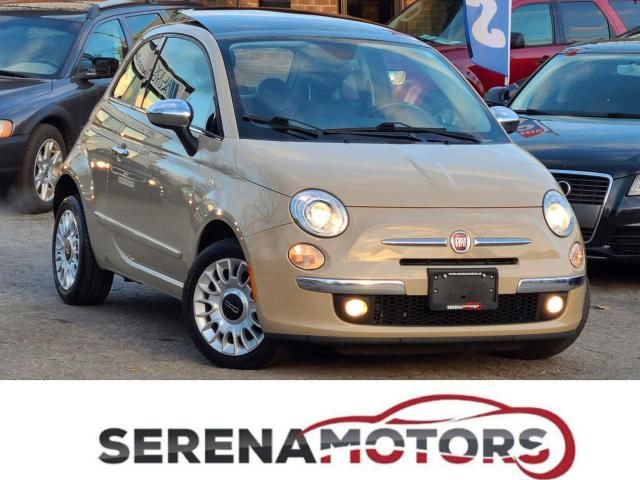 2012 Fiat 500 LOUNGE | AUTO | FULLY LOADED | NO ACCIDENTS