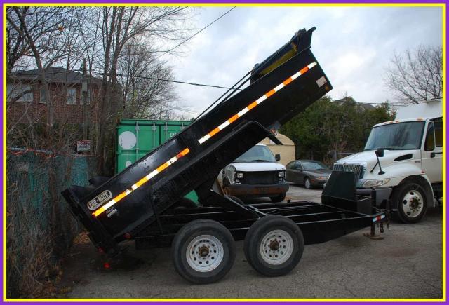 2008 Car Mate Utility Trailer 14,000 Pound GVWR Dump Trailer