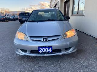 Used 2004 Honda Civic SATELLITE RADIO, RECLINING SEATS, POWER LOCKS, FWD for sale in Woodbridge, ON
