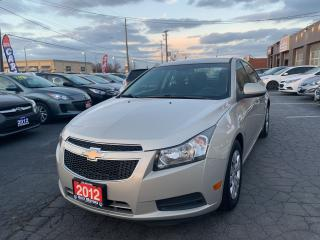 Used 2012 Chevrolet Cruze LT Turbo w/1SA for sale in Hamilton, ON