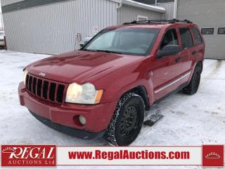 Used 2005 Jeep Grand Cherokee Laredo 4D Utility 4WD 4.7L for sale in Calgary, AB
