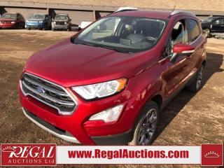 Used 2018 Ford EcoSport Titanium 4D Utility 4WD 2.0L for sale in Calgary, AB