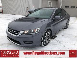 Used 2014 Honda Accord Sport 4D Sedan AT 2.4L for sale in Calgary, AB