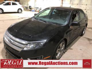 Used 2010 Ford Fusion Sport 4D Sedan AWD for sale in Calgary, AB