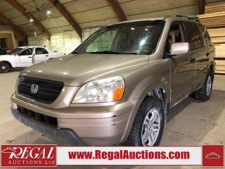 Used 2004 Honda Pilot 4D Utility AWD for sale in Calgary, AB