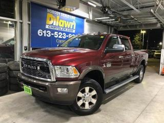 Used 2018 RAM 2500 Longhorn Special Edition Crew 4X4 | 5th Wheel Prep for sale in Nepean, ON
