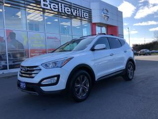 Used 2013 Hyundai Santa Fe Premium, 1 OWNER LOCAL TRADE, HEATED REAR SEATS for sale in Belleville, ON