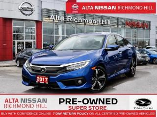 Used 2017 Honda Civic Touring   Leather   Apple Carply   Remote Start for sale in Richmond Hill, ON