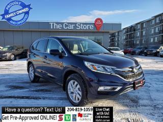 Used 2016 Honda CR-V EX-L SUNROOF Htd Leather Rear CAm Push start for sale in Winnipeg, MB