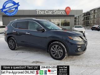 Used 2016 Nissan Rogue SL- NAVI Blind Spot Leather Rear Cam REMOTE STARTR for sale in Winnipeg, MB